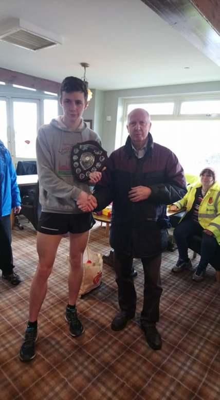 1st Male & Overall Winner Harry Wells
