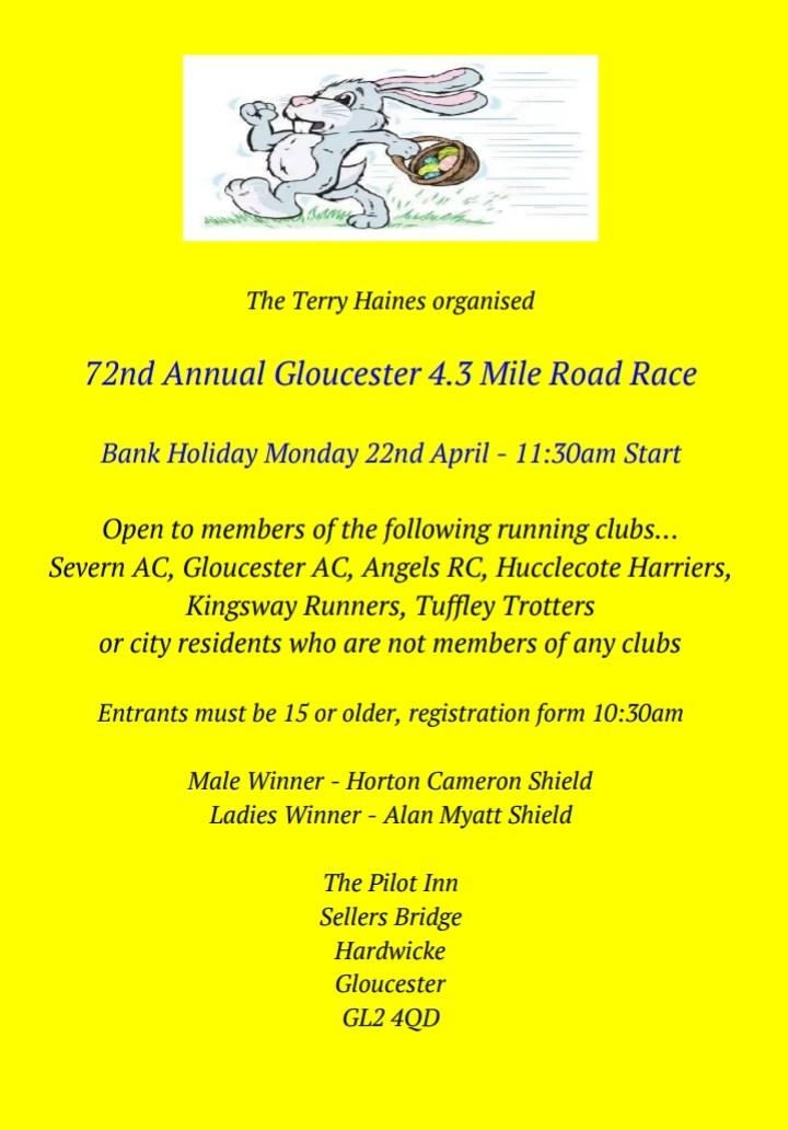 72nd Gloucester 4.3 MileRace